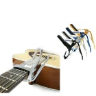 Metal folk guitarra capo - plata