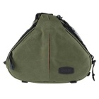 Caden K1 Waterproof Triangle Camera Nylon Shoulder Bag for Canon / Nikon / Pentax DSLR - Army Green