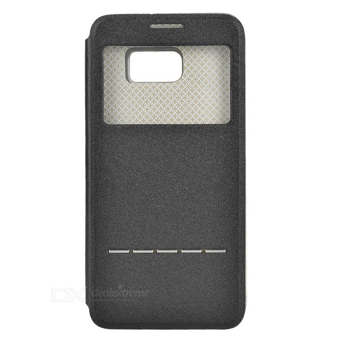 Funda inteligente PU para Samsung Galaxy S6 edge plus - negro