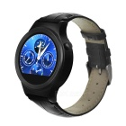 "NO.1 S3 Smart Watch Phone w/ 1.22"" IPS, Heart Rate Monitor - Black"