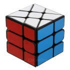 3 x 3 x 3 Hot Wheel Style Irregular Rubik's Cube - Black