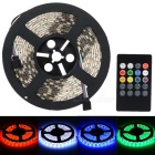 Waterproof 60W LED Light Strip RGB 6000lm 300-SMD 5050 w/ Music 2.0 Controller (100~240V / EU Plug)