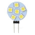 G4 0.5W Insert LED Light Source Module Cold White 50lm 6-SMD (5PCS)