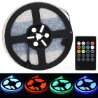 JRLED Waterproof 60W LED Light Strip RGB 6000lm SMD 5050 w/ Music 2.0 Controller (100~240V/EU Plug)
