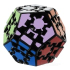 Educational Gear Dodecahedron Rubik's Cube Magic Cube Puzzle Toy Gift - Black + Multi-Color