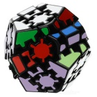 Educational Gear Dodecahedron Magic Cube Puzzle Toy Gift - Multi-Color