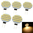 G4 2W LED Module Warm White Light 3200K 80lm 24-SMD 3528 (DC 12V / 5 PCS)
