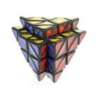 Irregular Shaped 4 Roller Pyramid Style Magic IQ Cube - Multicolor
