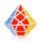 3 x 3 x 3 Irregular Crystal Style Magic IQ Cube - White + Multicolor