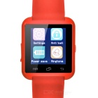 "U8 1.44"" Bluetooth V3.0 Smart Watch w/ Pedometer / Sleep Monitoring, Anti-Lost, Remote Picture - Red"