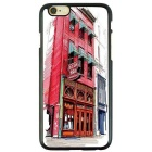 Slow Life European Architectural Style TPU Case for IPHONE 6 / 6S - White + Red