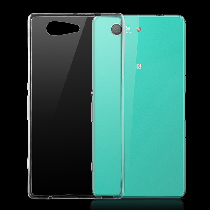 TPU Back Case for Sony Xperia Z3 Compact / Z3 Mini - TransparentTPU Cases<br>Form ColorTransparentModelN/AMaterialTPUQuantity1 DX.PCM.Model.AttributeModel.UnitShade Of ColorTransparentCompatible ModelsSony Xperia Z3 CompactPacking List1 x Back Case<br>