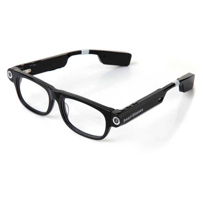 Leapower V3 Smart Glasses w/ Bluetooth Call / Music / Flash Light / Mic. / GPS - Transparent