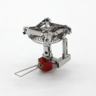 Resolutes S03 Big Holder Outdoor Gas Stove - Blue + Silver