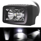 Flood 10W 2-LED Waterproof  White Car Working Light Bar / Daytime Running Light / Off-Road Lamp