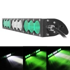 90W 9-LED 7650lm 6000K LED Worklight Bar Combo Green + White Beam Offroad 4WD SUV Driving Lamp