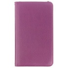 Protective Rotating PU Leather Case Cover for Samsung Galaxy Tab 4 7.0 T230 / T231 / T235 - Purple