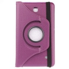 Protective Rotating Case Cover for Samsung Galaxy Tab 4 7.0 - Purple