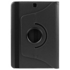 ENKAY PU Case w/ 360' Rotation Stand for Samsung Tab S2 T815 - Black