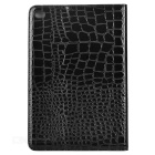 Alligator Pattern Protective Case w/ Stand for IPAD MINI 4 - Black