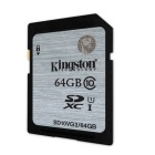 Kingston SD10VG2 Tarjeta de memoria flash SDHC clase 10 uhs-i 45R / 10W de 64GB