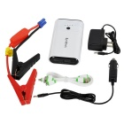 SynkTech 12000mAh Emergency Car Jump Starter w/ LED Flashlight - White