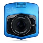 "2.3"" TFT FHD 1080P CMOS 170' Wide-Angle Car DVR Recorder Camcorder w/ LED & IR Night Vision - Blue"