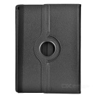 360 Degree Rotary PU Case w/ Stand for IPAD PRO - Black