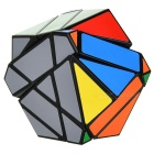 Irregular Magic IQ Cube Educational Toy Gift - Black + Multicolored