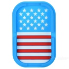 US Flag Pattern PVC Car Anti-slip Mat - Blue + Red + Multicolor