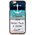 Boat on the Beach Pattern Protective TPU Back Case for IPHONE 6 / IPHONE 6S