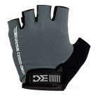 Basecamp BC-204 Anti-Shock Breathable Half-Finger Gloves - Grey (M)