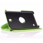 Protective Rotating Case Cover for Samsung Galaxy Tab 4 7.0 - Blue