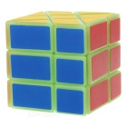 3*3*3 Hot Wheel Style Irregular Cube - Green + Multicolored