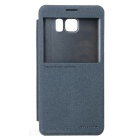 NILLKIN Protective Flip Open PU Leather + PC Case for Samsung Galaxy Note 5 - Black