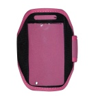 Sport Armband for Iphone 4 - Deep Pink + Black