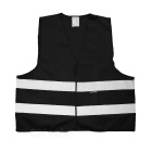 Salzmann Multifunction Outdoor Cycling Reflective Vest - Black