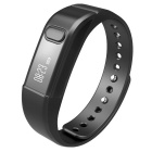 "I5S 0.49"" OLED Bluetooth V4.0 Smart Watch Wristband Bracelet w/ Sports / Sleep Tracking - Black"
