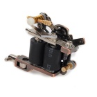 K400 Skull Casting Tattoo Machine Stability Tattoo Machine - Golden