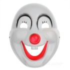 Halloween-Maskerade Partei PVC Clown Maske - White + Black + Red