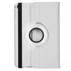 Litchi Pattern Protective PU Smart Case for IPAD MINI 4 - White