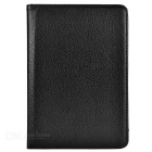 Litchi Pattern Protective PU Smart Case for IPAD MINI 4 - Black