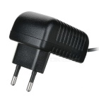 12V 1A EU Plug AC Power Adapter - Black (100~240V/5.5*2.1mm)