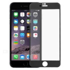 0.25mm Tempered Glass Film for IPHONE 6 PLUS - Transparent + Black