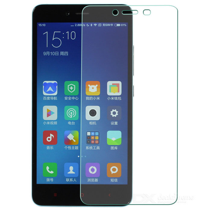 Protective Tempered Glass Screen Protector for Xiaomi Redmi Note 2 - Transparent