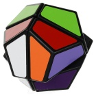 2*2*2 Irregular Shaped Dodecahedron Cube - Black + Multicolor