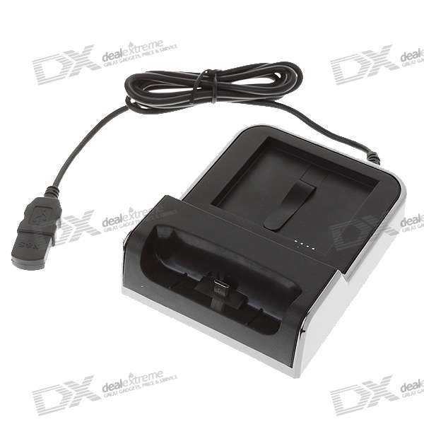 USB/AC Power Charger Docking Station for HTC Desire/G7 (100~240V)
