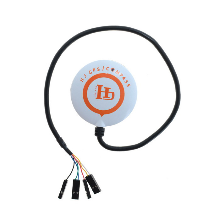 NEO-M8N High Precision GPS Module Built-in Compass GPS - White +Orange