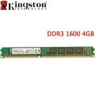 Kingston ValueRAM 4GB 1600MHz PC3-12800 DDR3 Non-ECC CL11 DIMM SR x8 Desktop Memory