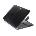 "ASLING ASL-903 Protective PU Leather Case for MACBOOK 12"" - Black"